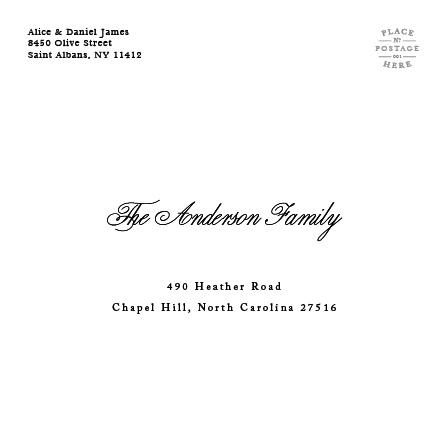 S6 Mailing Address Envelope