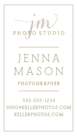 Upload your own professional logo to the Custom Logo Business Cards.
