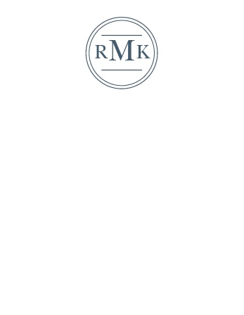 Turn your initials into your letterhead with the Circle Monogram Business Stationery.