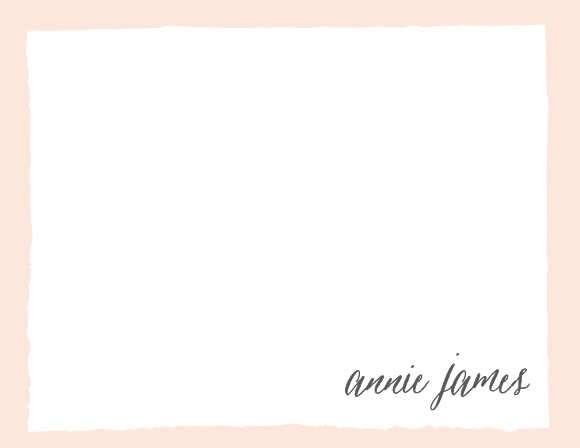 Create your professional and artistic letterhead with the Painted Border Business Stationery.