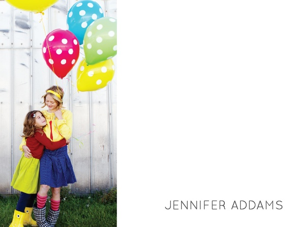 Create your professional brand using your photo on the Modern Family Business Stationery.