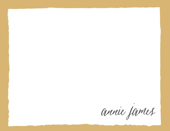 Create your professional and artistic letterhead with the Painted Border Foil Business Stationery.
