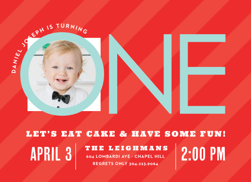 First birthday invitations 40 off super cute designs basic invite candy stripe boy first birthday invitations filmwisefo Image collections
