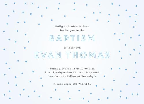 boy baptism invitations boy christening invitations basic invite