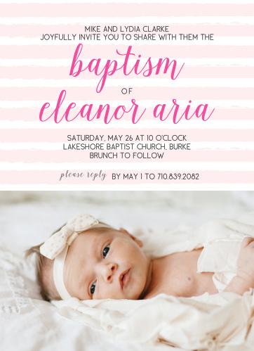 Baptism Invitations Christening Invitations Basic Invite