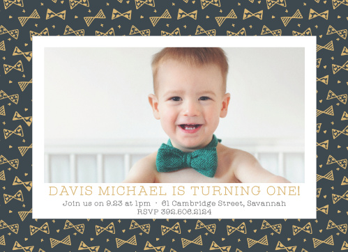 First birthday invitations 40 off super cute designs basic invite busy bows foil first birthday invitations filmwisefo