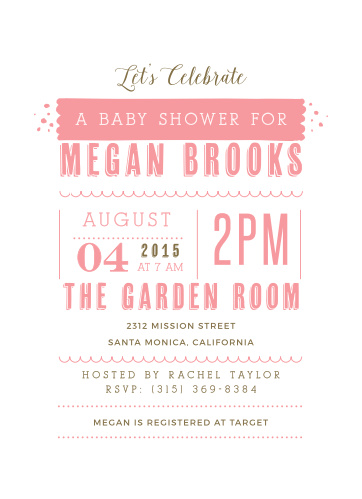 Celebrate the Mother-to-be with the Baby Stats Baby Shower Invitations from the Love Vs Design Collection at Basic Invite.