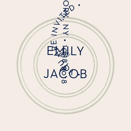 Embellish your elegant, jet-set wedding stationery with Posh Postmark Stickers.